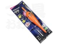 ハピソン 赤発光 ラバートップミニウキ - YF-065DL #赤色光 適合オモリ 3.0号相当