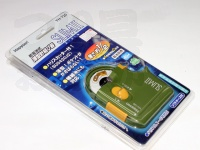 ハピソン 乾電池式 薄型針結び器 スリムII - YH-720 #カーキ 単4形乾電池2コ用