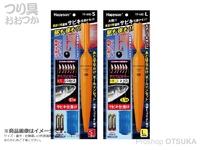 ハピソン 夜釣り用遠投サビキ仕掛けセット - YF-440 #アミエビカラー S 針5号ハリス0.8号幹糸2号