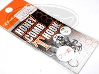 ロデオクラフト シングルフック - ロデオクラフト ハニカムTフック フッ素コート - サイズ #8