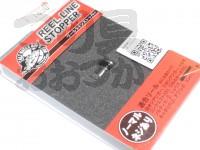 ソルトウォーターボーイズ リールラインストッパー -  #クロ 標準タイプ ネジ付き