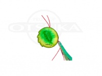 シーフロアコントロール アンモナイト - コンプリート #ゴールドグリーン ジャムフックライト1/0 100g