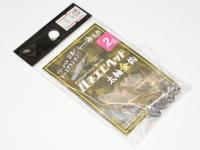 一誠 海太郎 フック・ジグヘッド - ハネエビヘッド #太軸金鈎 2g フックサイズ#8
