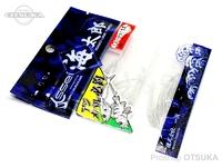 一誠 海太郎 ワーム - スパテラ 1.5インチ #クリアシルバーフレーク 1.5インチ