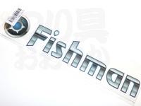 フィッシュマン ステッカー -  #フィッシュマン 30×9