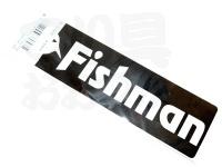 フィッシュマン ステッカー - フィッシュアイコン #ブラック