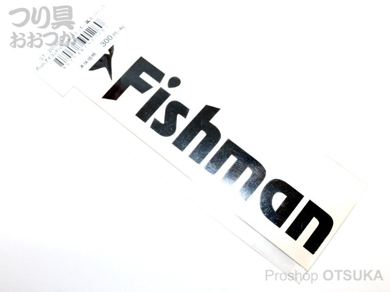 フィッシュマン ステッカー フィッシュアイコンステッカー  #ブラック/カッティング