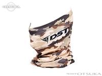 ディスタイル ネックゲイター - クールサンマスク バスカモ Ver001 #ベージュカモ フリーサイズ