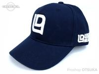レジットデザイン キャップ - LDロゴ ベースボール #ネイビー フリーサイズ