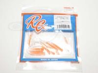 ロデオクラフト ライトゲームソフトルアー - シャム 014 コアオレンジ 2インチ