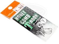 ロデオクラフト シングルフック - ロデオクラフト ハニカムTフックトーナメント フッ素コート  #7