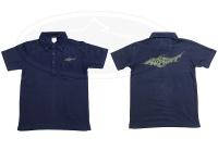 ロデオクラフト ポロシャツ - 5.3オンス  #ネイビー/オリーブ Lサイズ