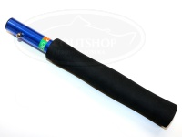 ロデオクラフト ラバーランディングネット - ショートシャフト #ブルー(シャフトのみです) サイズ260mm