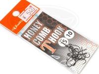 ロデオクラフト シングルフック - ロデオクラフト ハニカムTフック フッ素コート - サイズ #10