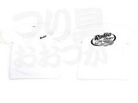 ロデオクラフト Tシャツ - 6.5オンス  #ホワイト/ブラック XLサイズ
