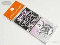 ロデオクラフト シングルフック - クイッククラッチフック # サイズ#6 フッ素