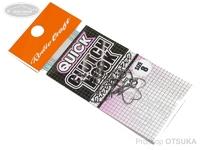 ロデオクラフト シングルフック - クイッククラッチフック # サイズ#8 フッ素