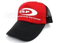オーエスピー OSP ロゴメッシュキャップ -  #レッド/ブラック サイズフリー