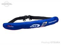 オーエスピー OSP ライフジャケット - -5520RS #ブルー ウェストベルトタイプ タイプA 桜マーク付き