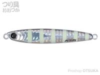 メジャークラフト ジグパラ - バーチカルTG #7 ゼブラグロー 60g