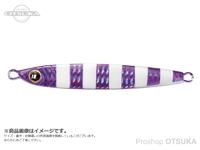 メジャークラフト タチジギ道場 - スタンダード #3 ゼブラパープル 120g