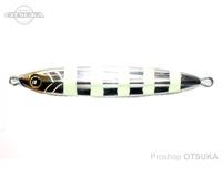 メジャークラフト タチジギ道場 - スローフォール #1 ゼブラグロー 150g