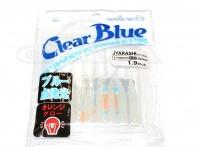 クリアブルー ワーム - ジャラシ  #38-1 ブルースター サイズ1.9インチ