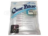 クリアブルー ワーム - アジール  #42-1 PGシークレット サイズ2.0インチ