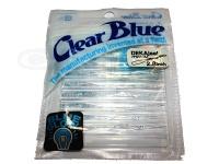 クリアブルー ワーム - デカジール #21-2 BGブルーホロ サイズ2.8インチ