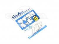クリアブルー ジグヘッド - サイコロヘッド #シルバー 0.3g