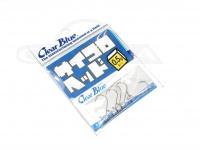 クリアブルー ジグヘッド - サイコロヘッド #シルバー 0.5g