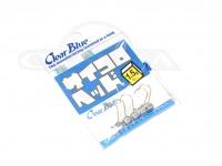 クリアブルー ジグヘッド - サイコロヘッド #シルバー 1.5g