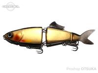 霞デザインオフィス アユクローン - 180  #KDW08 ブラックバックゴールド 180mm 56g スローシンキング
