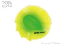 シーフロアコントロール アンモナイト - ヘッド #05 ゴールドグリーン 250g