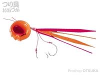 シーフロアコントロール アンモナイト - コンプリート #9 ベタオレンジレッド ジャムフックライト1/0 150g
