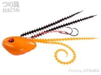 シーフロアコントロール ライダー - コンプリート #1 オレンジ 100g ジャムフック 9号