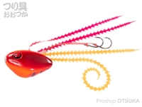 シーフロアコントロール ライダー - コンプリート #2 ベタオレンジレッド 150g ジャムフック 9号