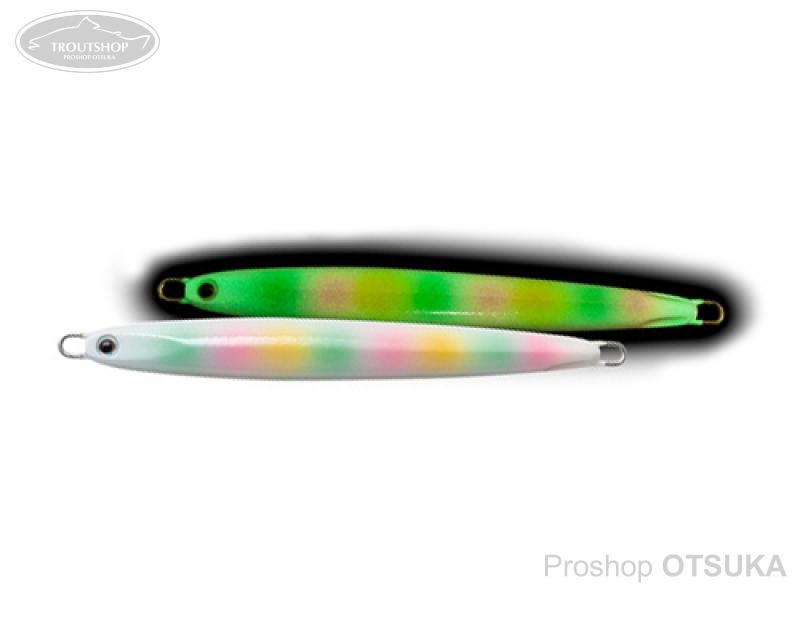 パームス スローブラットキャストロング レイクショアスロー15 83mm 15g #グローコットンキャンディ