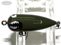 リプライ プラスチックプラグシリーズ - テリペン #戦闘機 36mm 2.3g フローティング