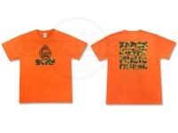 RCMF ラーメンカレーミュージックフィッシング Tシャツ - RCMF  #オレンジ Sサイズ
