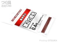 北越産業 糸オモリ - 第2の穂先  0.4号