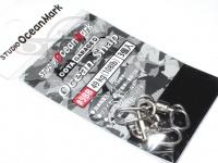 スタジオオーシャンマーク 小物類 - オーシャンスナップ シルバー サイズ#5BB 49kg(108lb)