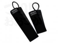スタジオオーシャンマーク アクセサリー - ネオプレーンマルチパーパスベルト ブラック サイズ 400×45mm、260×45mm