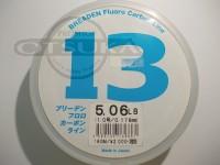 ブリーデン オリジナルライン - ブリーデンフロロカーボンライン クリア 5.06lb 糸径0.178mm 160m