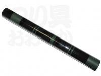 かちどき カーボン製浮子筒 - 50cm #黒X緑 50cm