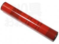 かちどき カーボン製浮子筒 - 30cm #赤X赤 30cm