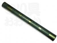 かちどき カーボン製浮子筒 - 50cm #緑X金 50cm