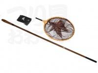 かちどき レース織玉枠セット - 1本物 玉の柄 #紋竹 玉の柄1本物X枠30cm