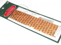 ガイア シリコンタブスカート -  #02 オレンジ ハンドタイイング用 短冊形