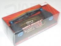 ZPI カーボンハンドル(ベイト) - ベイトリール用カーボンハンドル92mm パワーゲームタイプS #ブルー アブダイワ92mm PG-TS92AD-B